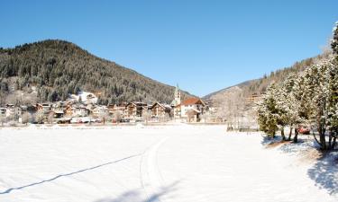 圣斯特凡诺迪凯德的滑雪度假村