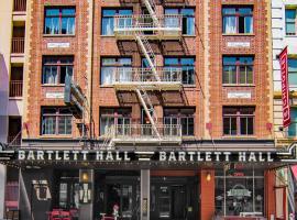巴特利特酒店和旅馆,位于旧金山的酒店