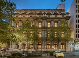 Treasury on Collins Apartment Hotel,位于墨尔本的酒店