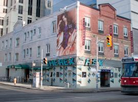 雷克斯爵士&蓝调酒吧酒店,位于多伦多的酒店