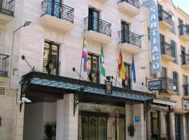 圣地亚哥酒店,位于利纳雷斯的酒店