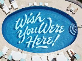 冲浪顶酒店及游泳俱乐部,位于檀香山的酒店