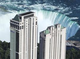 希尔顿尼亚加拉大瀑布/瀑布景观套房酒店,位于尼亚加拉瀑布的酒店