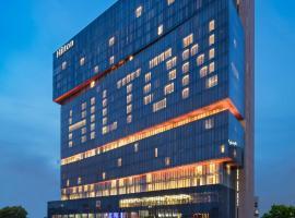 广州天河希尔顿酒店,位于广州的酒店