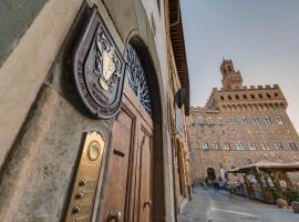 执政团广场德埃博卡居所酒店,位于佛罗伦萨的住宿加早餐旅馆