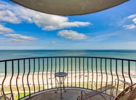 Ocean-view Condo w Balcony,位于默特尔比奇的公寓