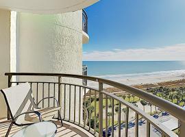 New Listing! Beachside Condo with Hot Tub & Pools condo,位于默特尔比奇的公寓