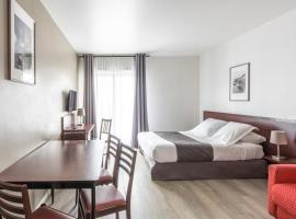 杜帕尔克瓦尔欧洲公寓式酒店,位于蒙泰夫兰的酒店