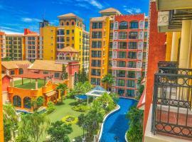 威尼斯人芭堤雅度假公寓,位于乔木提恩海滩的酒店