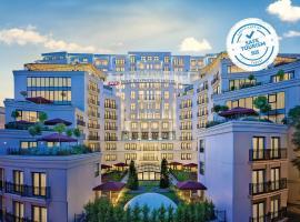 伊斯坦布尔CVK公园博斯普鲁斯酒店,位于伊斯坦布尔的酒店