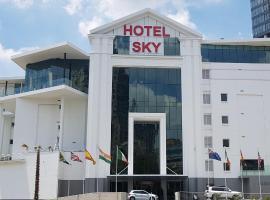 Hotel Sky, Sandton,位于约翰内斯堡的酒店