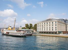 伊斯坦布尔博斯普鲁斯香格里拉酒店,位于伊斯坦布尔的酒店
