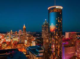 The Westin Peachtree Plaza, Atlanta,位于亚特兰大的酒店