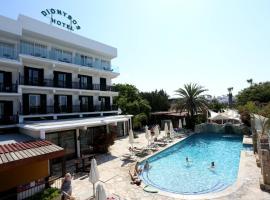 中央狄俄尼索斯酒店,位于帕福斯的酒店