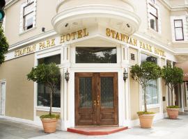 斯坦亚公园酒店,位于旧金山的酒店