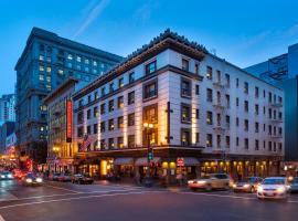 阿卜联合广场酒店,位于旧金山的酒店