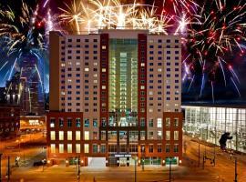 丹佛市中心/会展中心希尔顿合博套房酒店,位于丹佛的酒店
