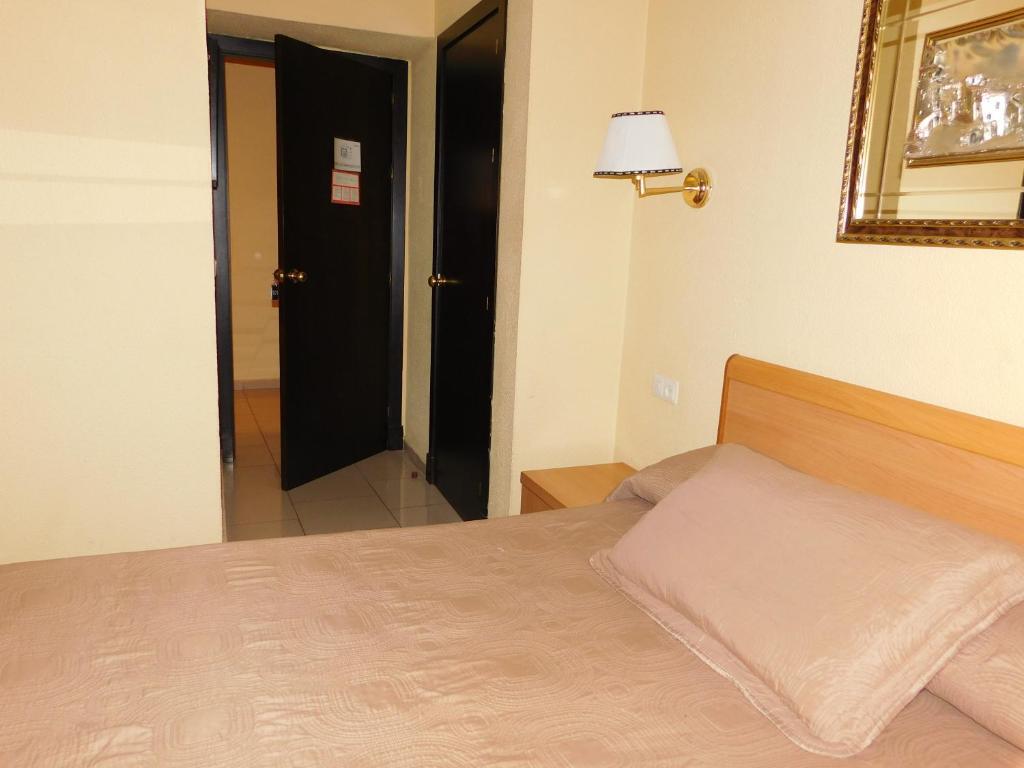 罗马酒店 客房内的一张或多张床位