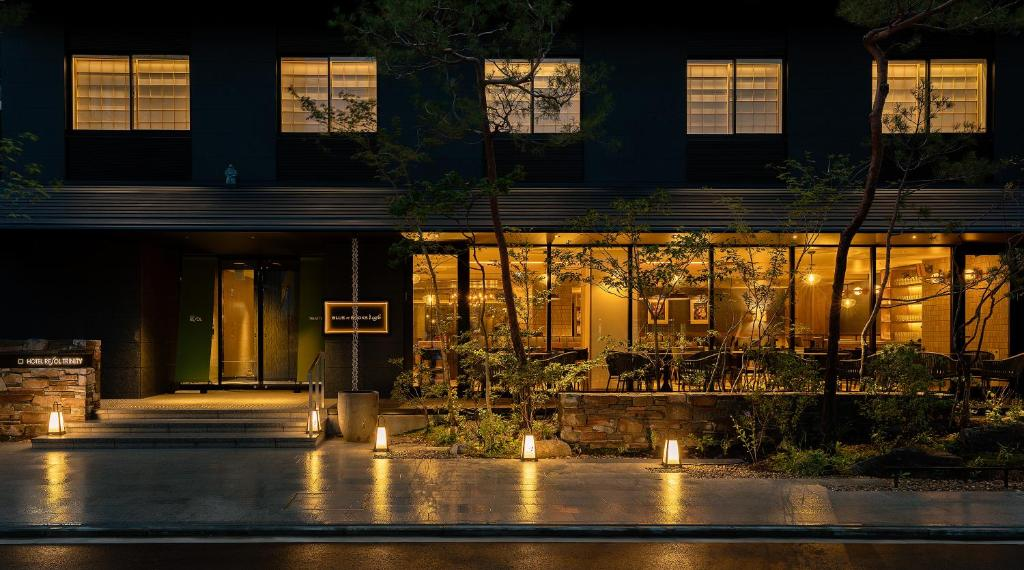 Hotel Resol Trinity Kyoto内部或周边的泳池