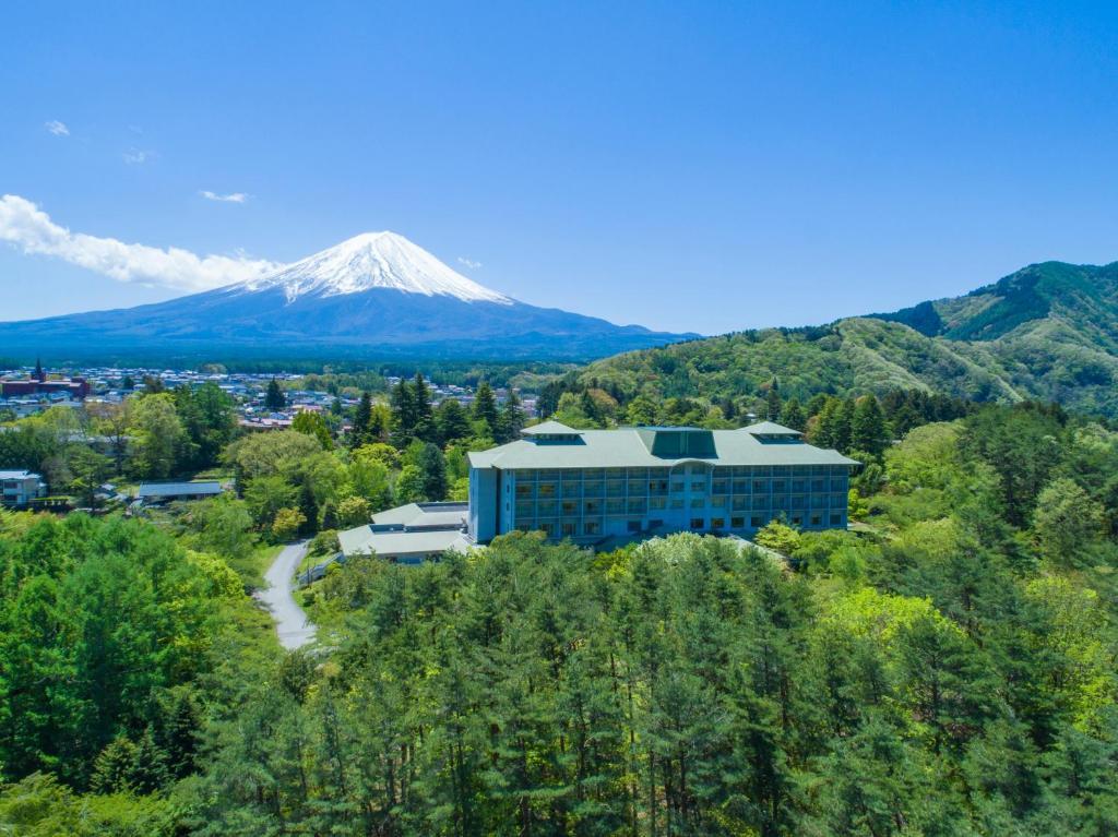 富士豪景酒店鸟瞰图