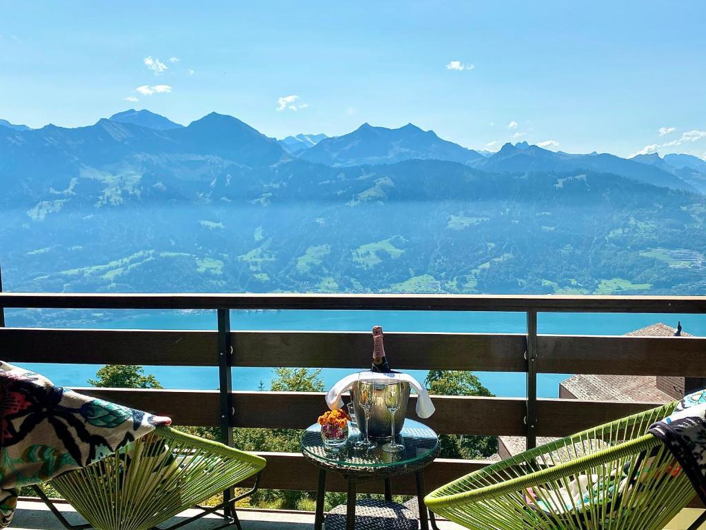 山景或在酒店看到的山景