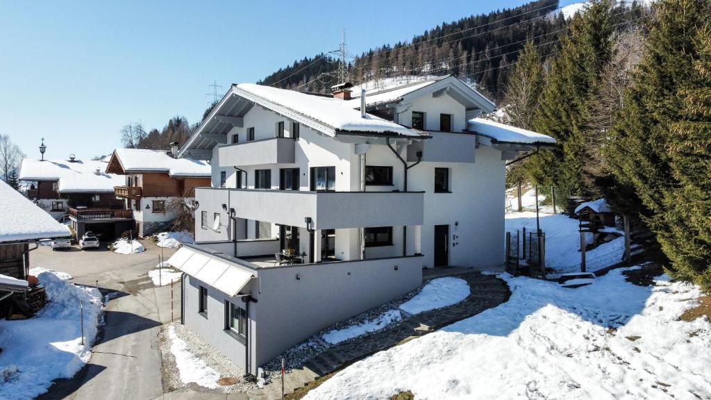 冬天的Haus Vordertiefenbach