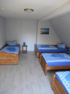 Pension Gut Grabitz客房内的一张或多张床位