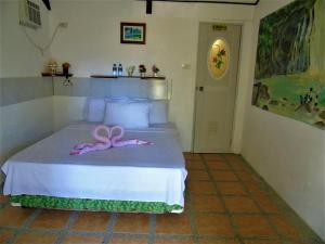 费顿海滩度假村客房内的一张或多张床位