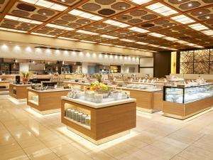 箱根绿色广场酒店餐厅或其他用餐的地方