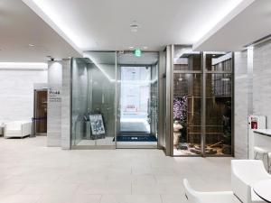 大阪梅田由尼森酒店的一间浴室