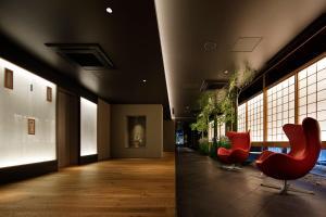 京都河原町三条瑞索酒店大厅或接待区
