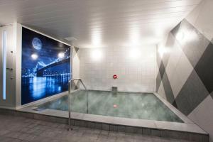 D-CITY名古屋纳屋桥大和皇家酒店的一间浴室