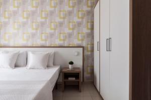Blubay Apartments by ST Hotels客房内的一张或多张床位