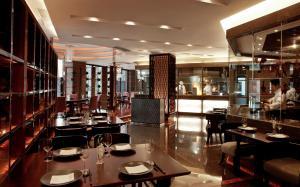 天津天诚丽筠酒店餐厅或其他用餐的地方