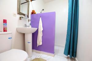 达尔泽霍恩酒店的一间浴室