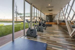 中央国际机场康福特茵酒店的健身中心和/或健身设施