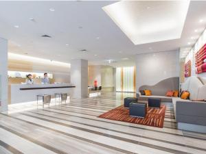 JR九州花博中心酒店大厅或接待区