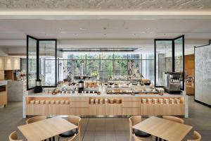 Hotel Vischio Kyoto by GRANVIA餐厅或其他用餐的地方