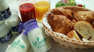 Shin Furano Prince Hotel提供给客人的早餐选择
