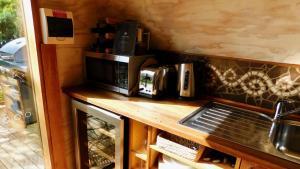 布鲁尼岛43度公寓的咖啡和沏茶工具