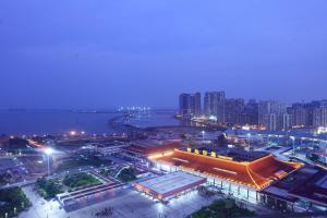 珠海来魅力假日酒店鸟瞰图