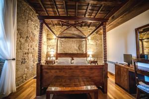 Pazo Barbeirón Slow Hotel Ribeira Sacra的一间浴室