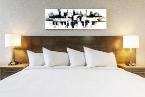 亨利四世里普特酒店客房内的一张或多张床位