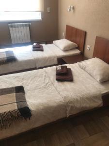Yurus Hostel客房内的一张或多张床位