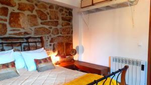 Casa da Lomba客房内的一张或多张床位