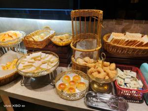 酒店内部或周边提供的食物