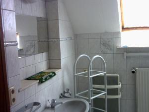 Ferienwohnung Lucia Huber的一间浴室