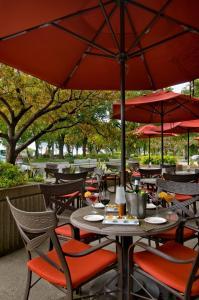 魁北克协和酒店餐厅或其他用餐的地方