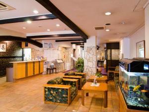 武藏屋酒店 大厅或接待区