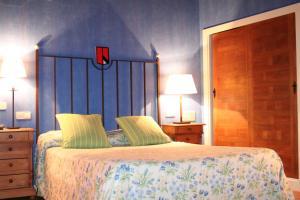德拉维拉酒店客房内的一张或多张床位